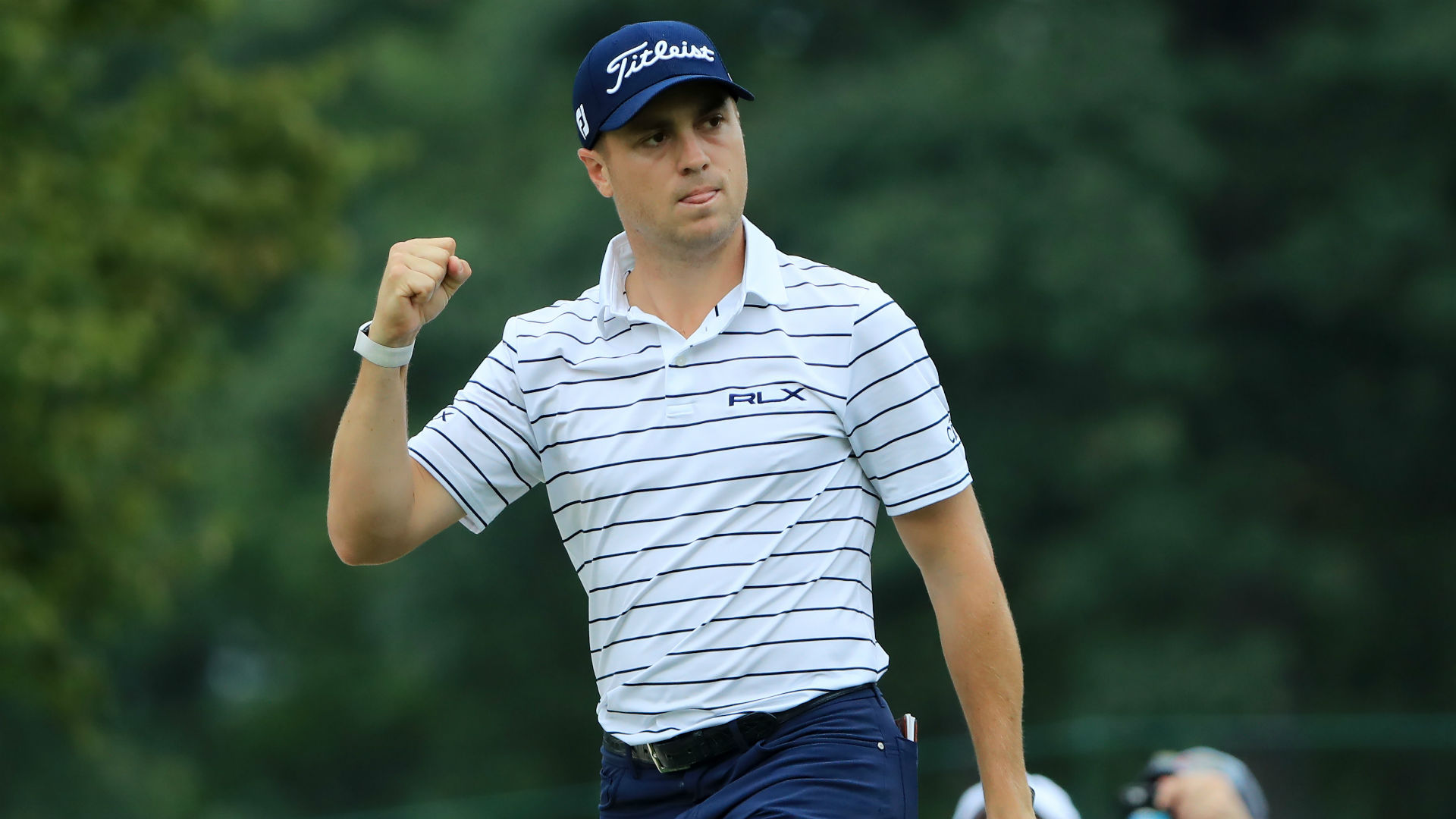 Thomas shatters course record for BMW Championship lead