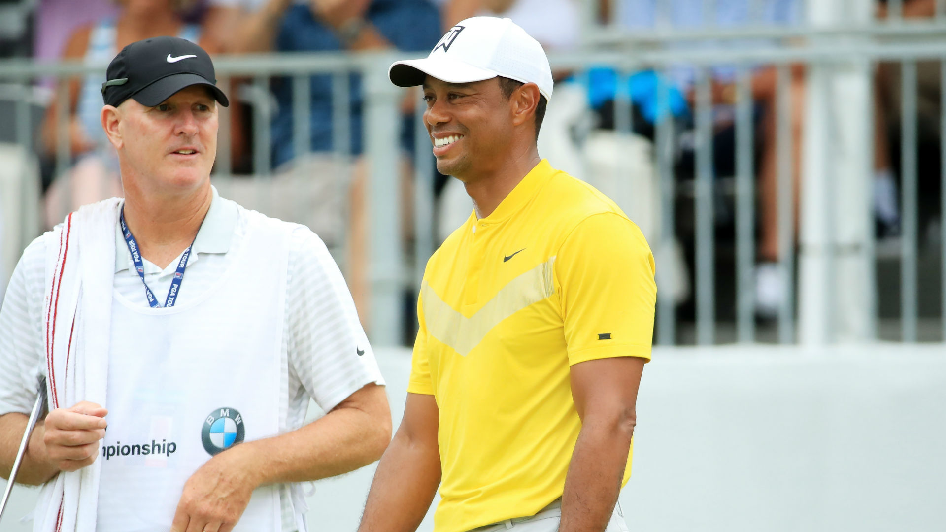 Tiger Woods jumps up leaderboard with 67