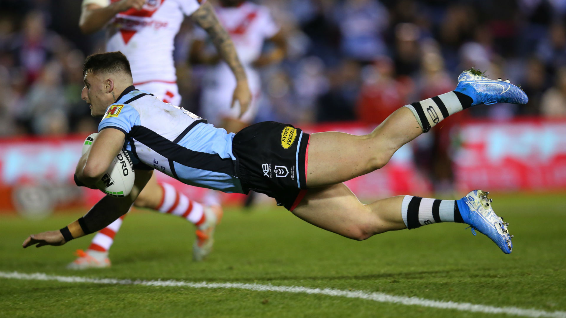 Xerri late show lifts Cronulla Sharks, Sydney Roosters run riot