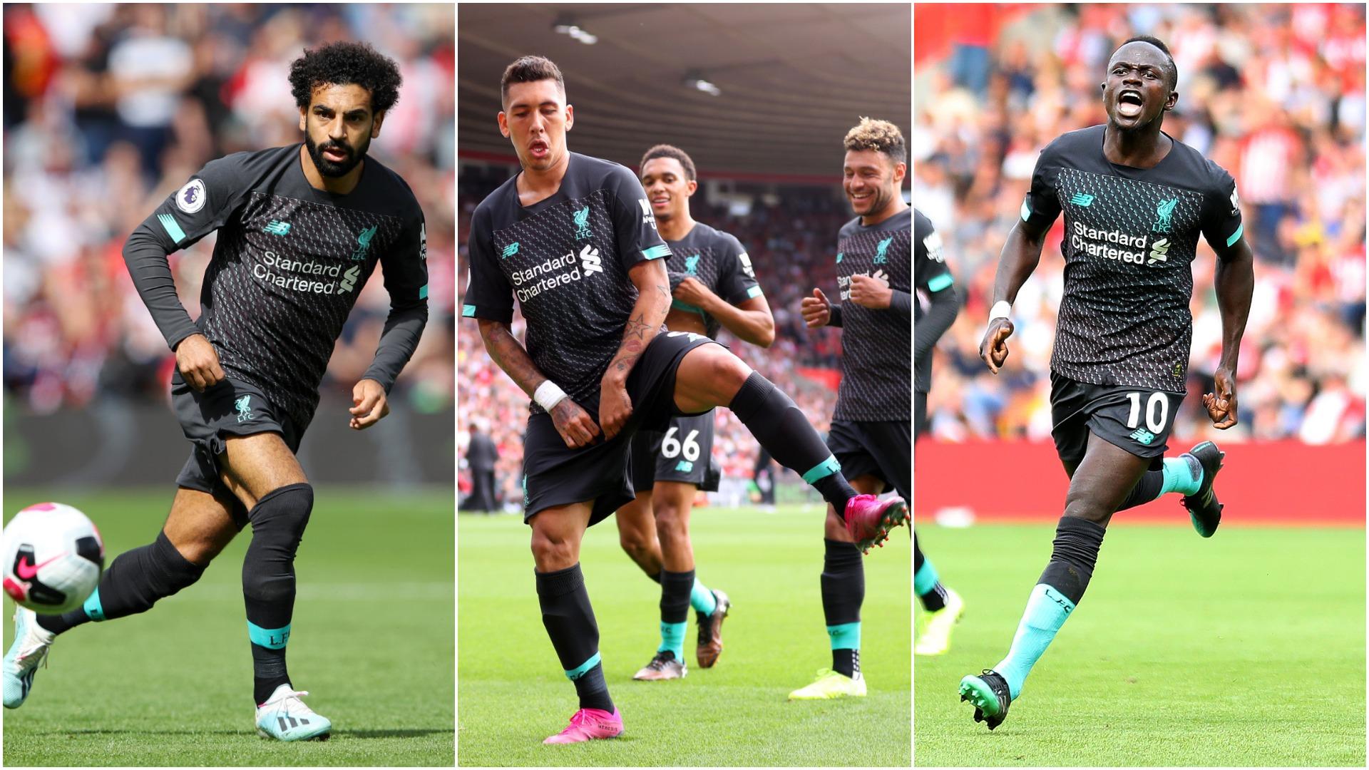 Liverpool boss Klopp thanks 'God' for Mane, Salah and Firmino