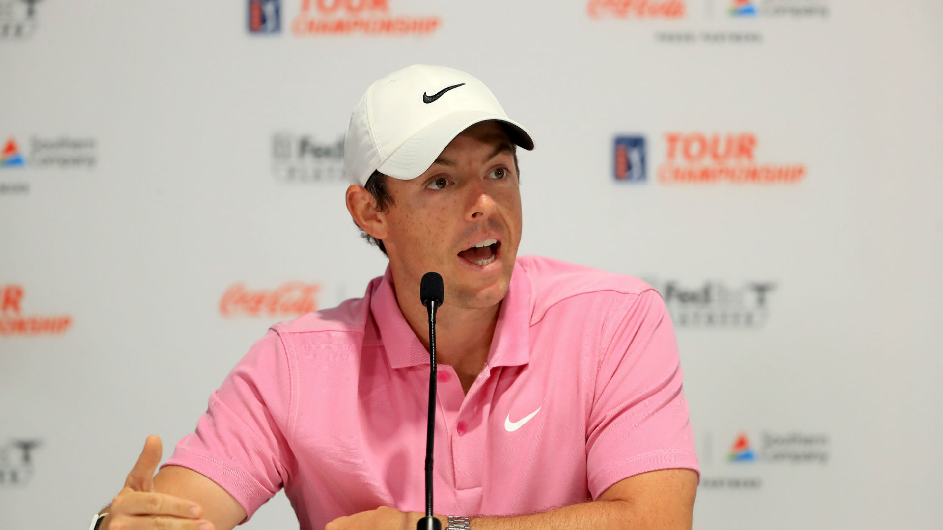 Come back to me on Monday! McIlroy unsure on revamped Tour Championship format