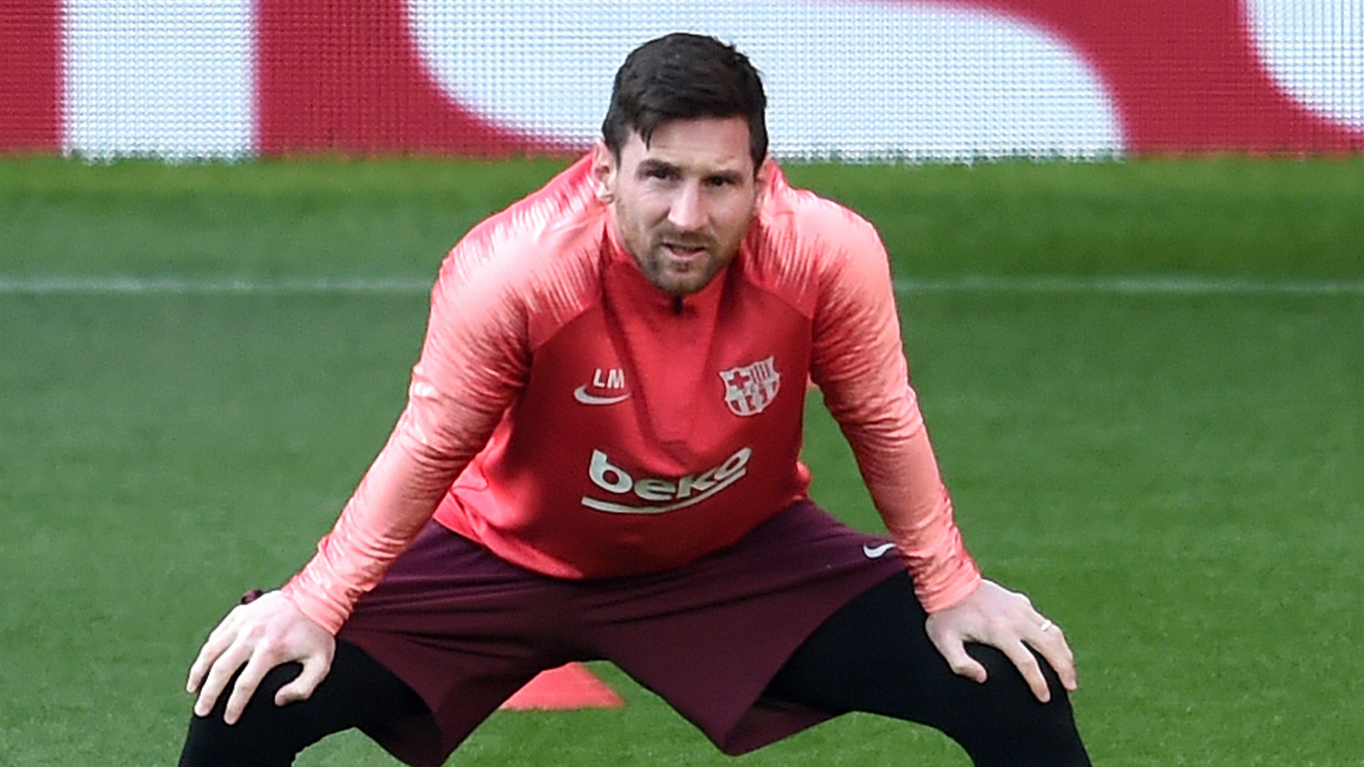 Messi returns to full training with Barcelona