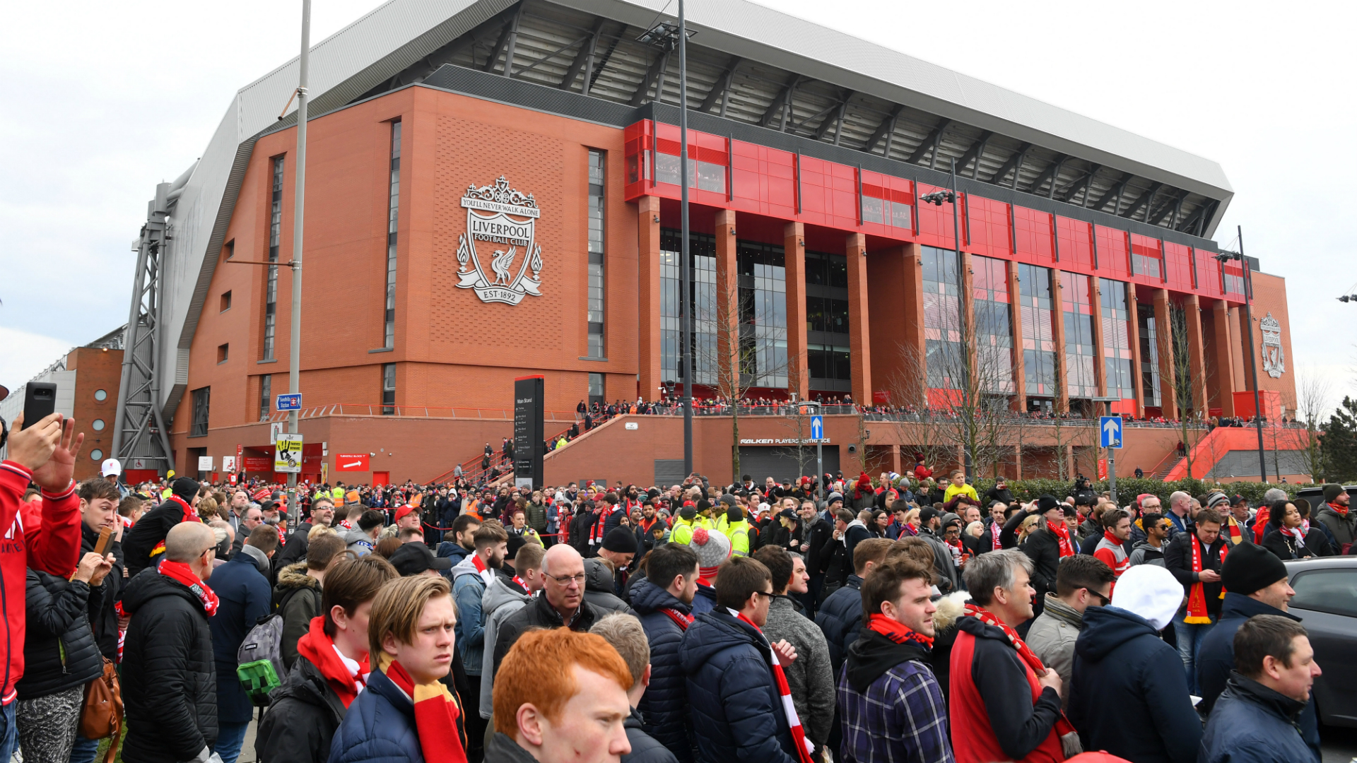 Liverpool announce 'ambitious' Anfield redevelopment plans