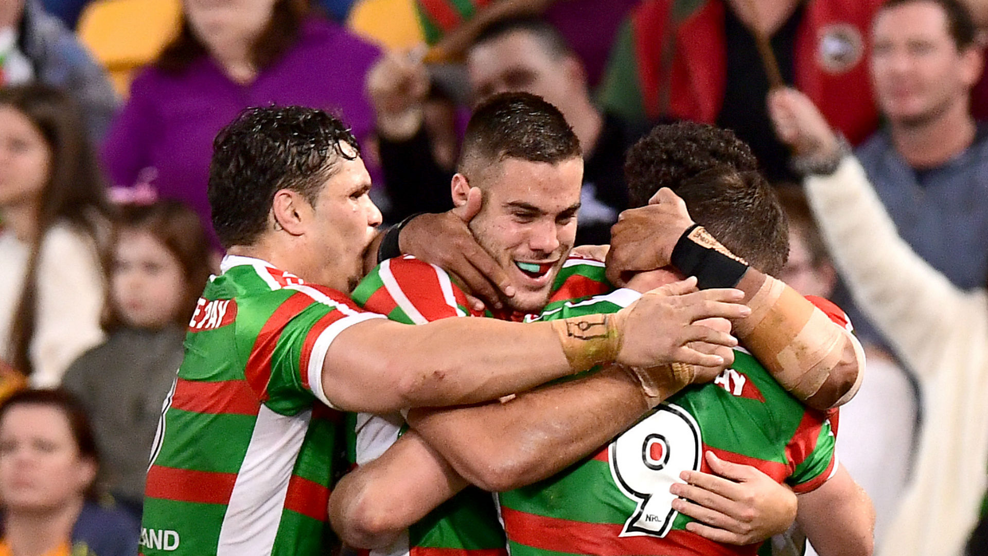 Cook steals the show as Rabbitohs edge out Broncos