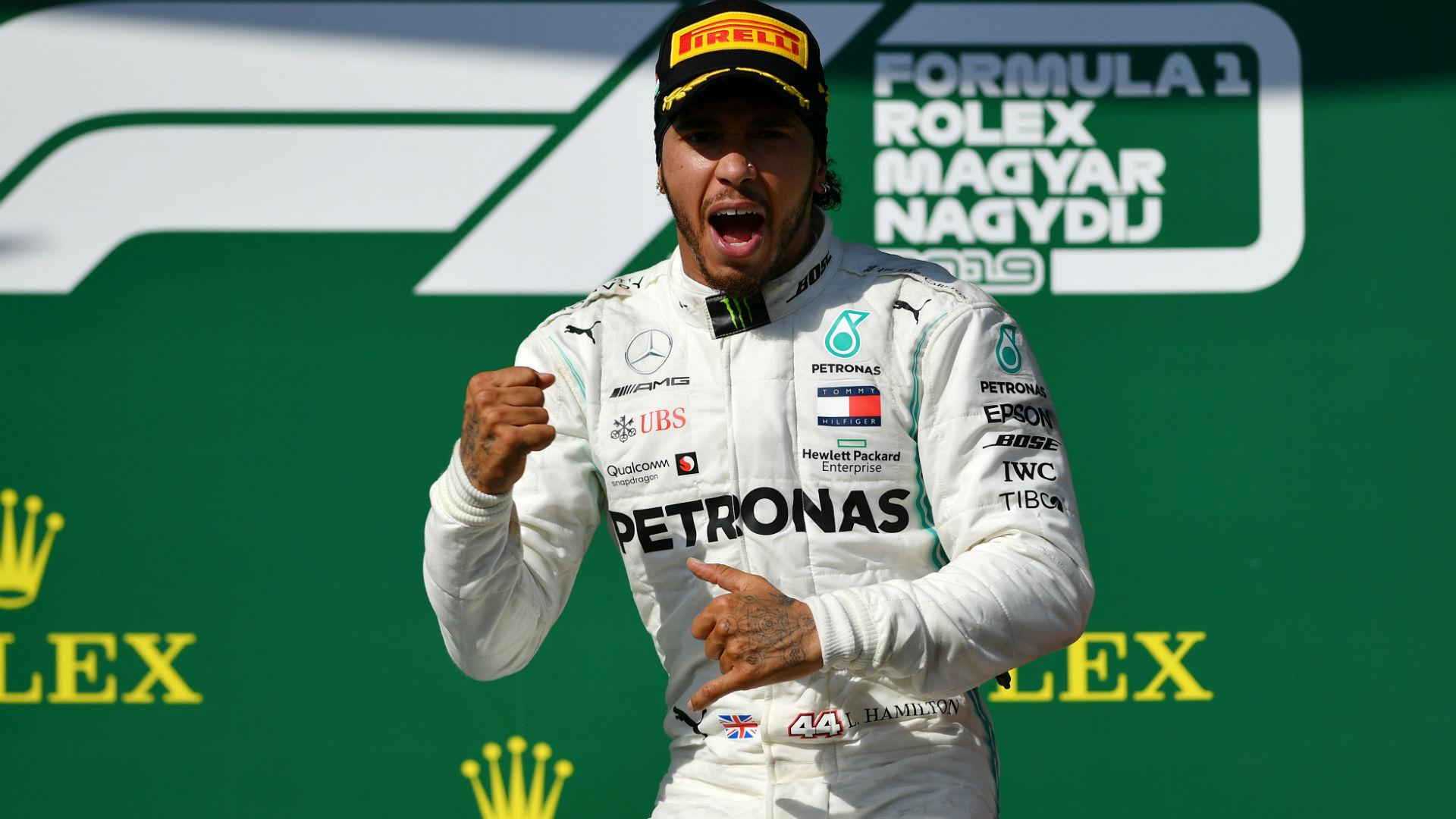 Hamilton not contemplating quitting Formula One