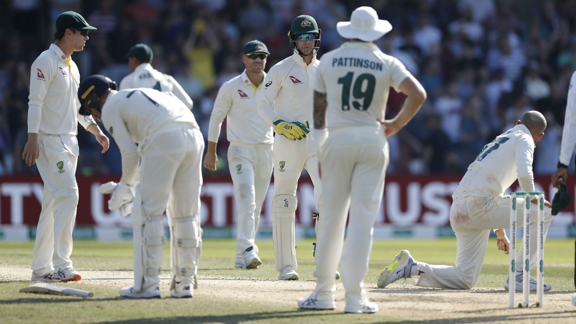 Ashes 2019: Paine has 'no issue' with umpire Wilson after Stokes survives to clinch Test