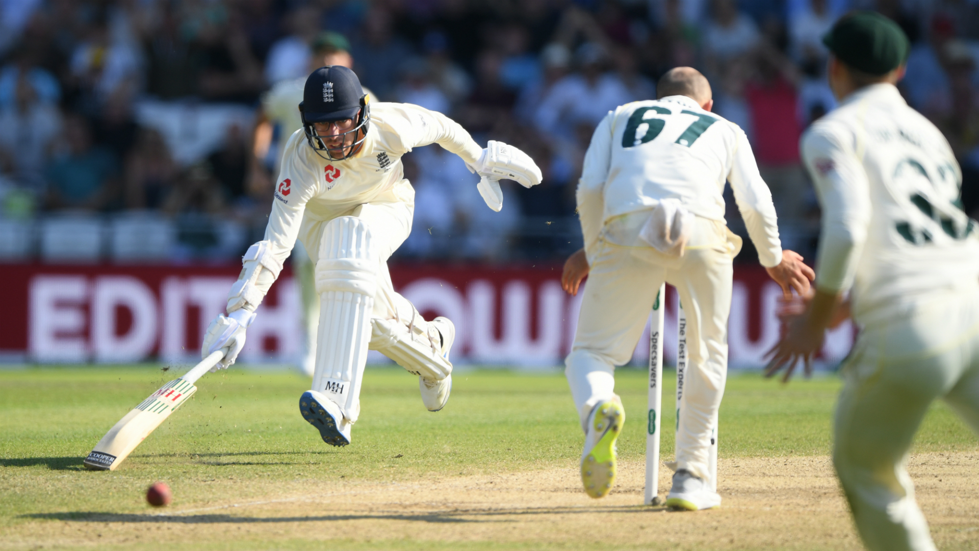 Ashes 2019: Specsavers answer Ben Stokes' plea to provide England's Jack Leach 'free glasses for life'