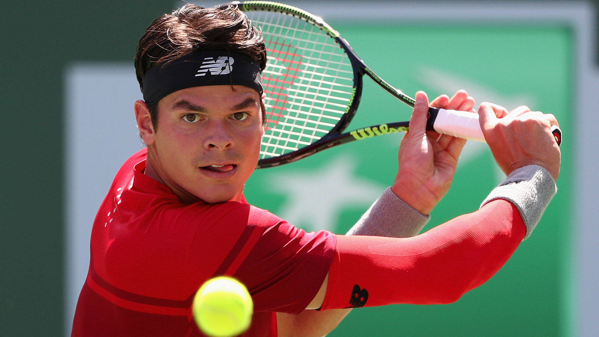 Raonic withdraws from US Open due to glute injury