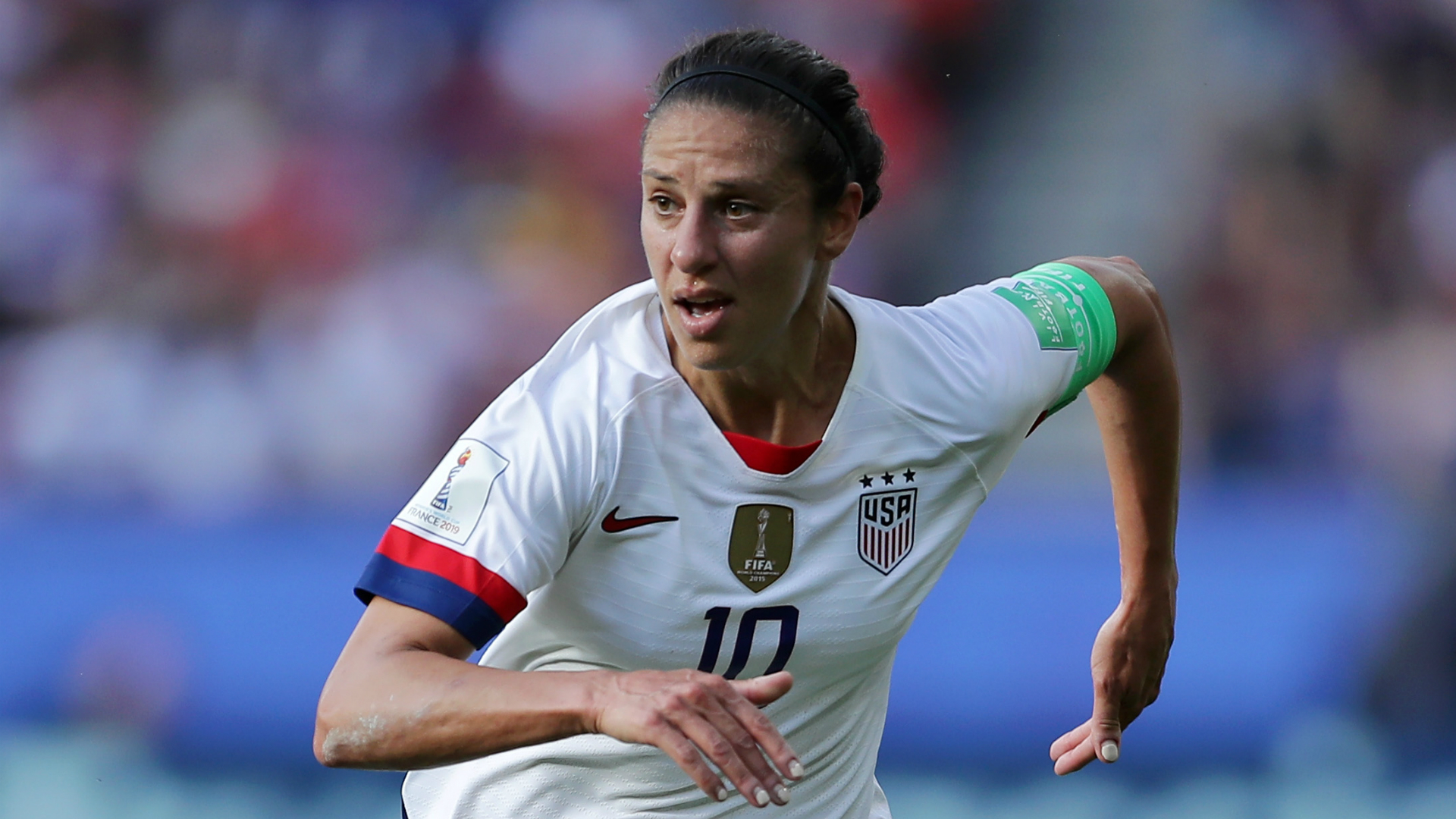 I know I could probably do it - Carli Lloyd on being an NFL kicker