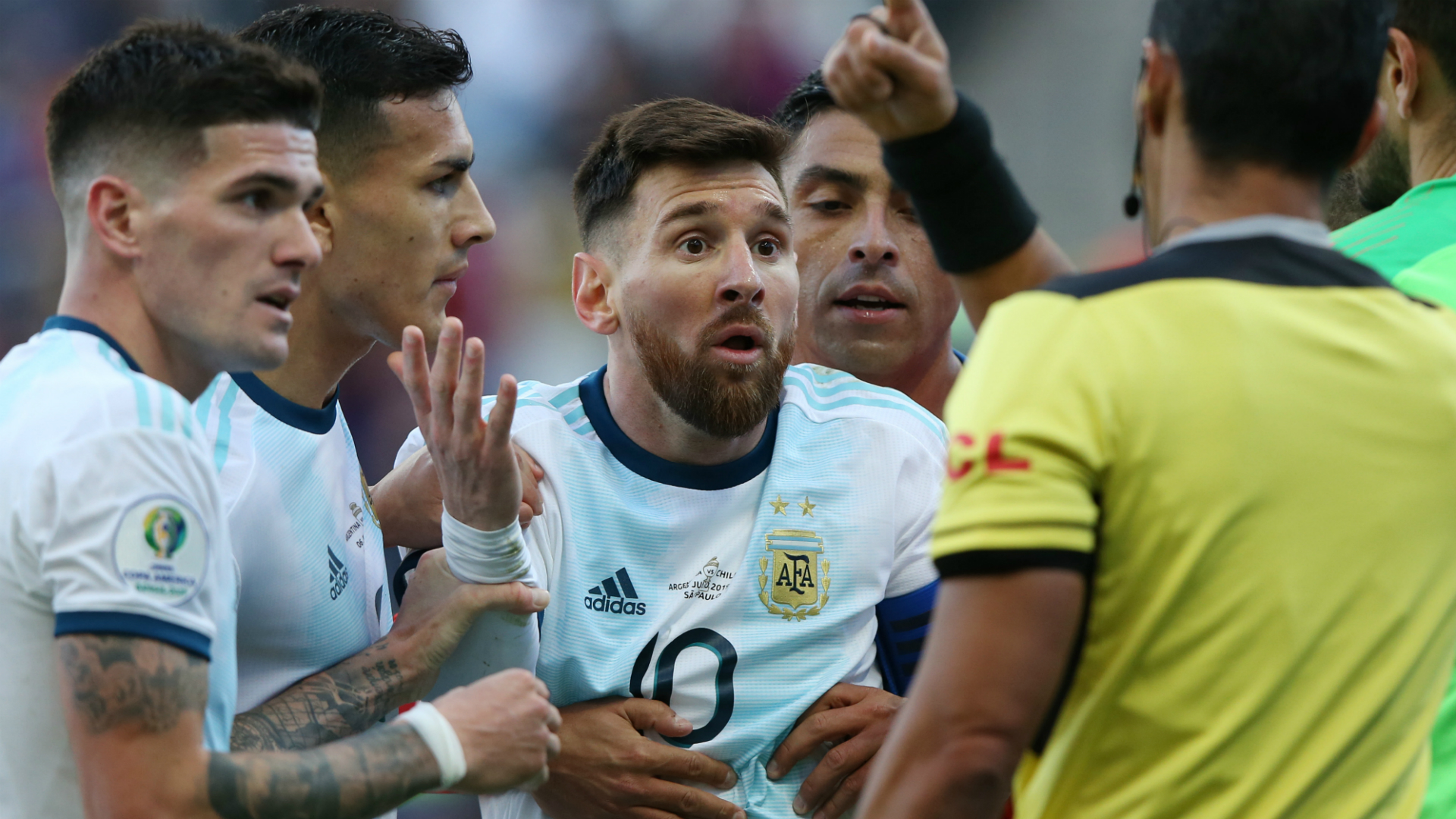Messi given three-month Argentina ban for accusing CONMEBOL of 'corruption'