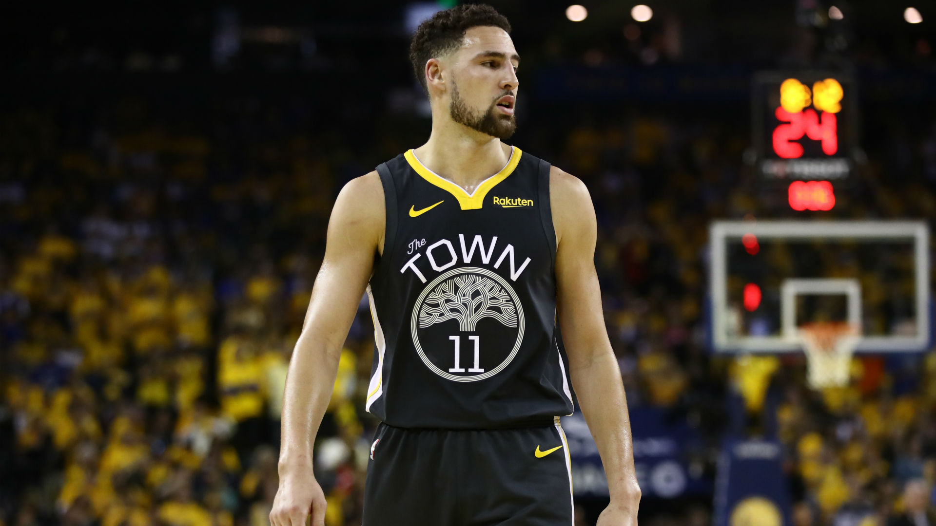 Warriors' Klay Thompson speaks on knee injury, motivation for next season