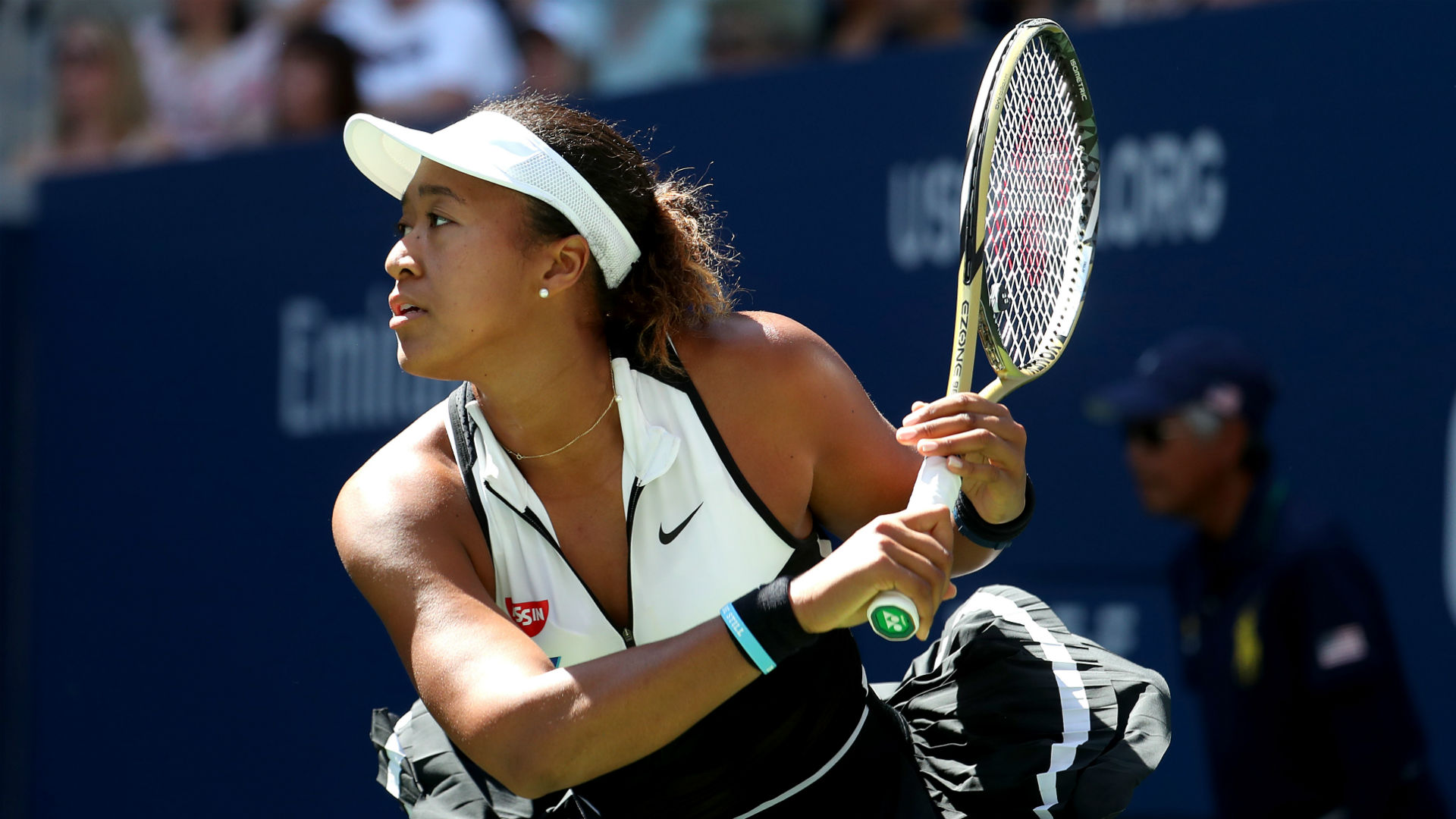 US Open 2019: Osaka overcomes in-form Linette in round two