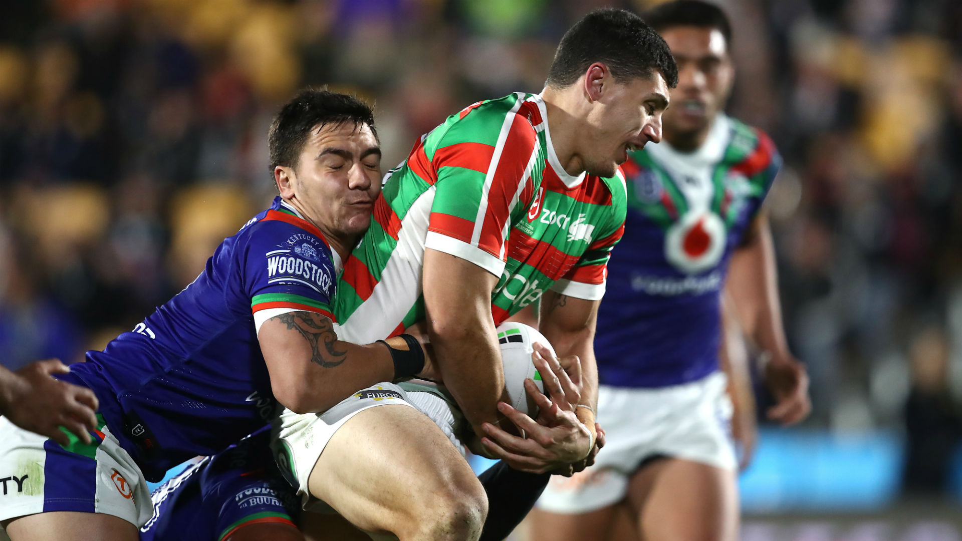 Rabbitohs still in top-four hunt, Broncos down Eels in golden point