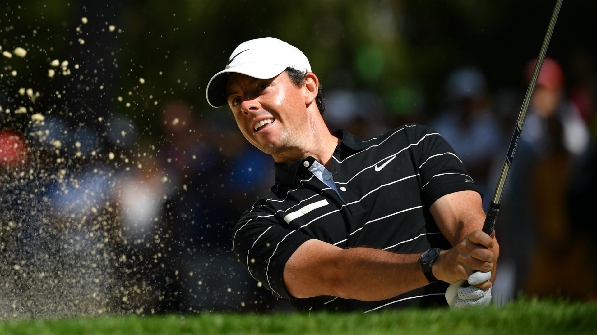 Inspired McIlroy races into Crans contention