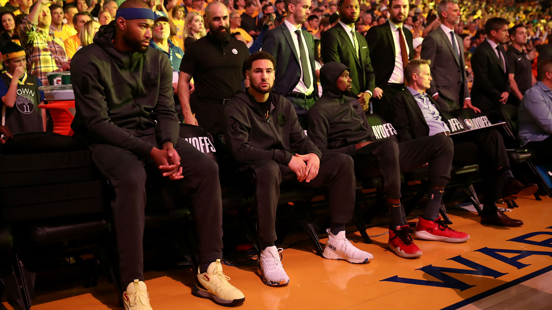 Klay Thompson on DeMarcus Cousins: 'I know he's going to be a huge asset for the Lakers'