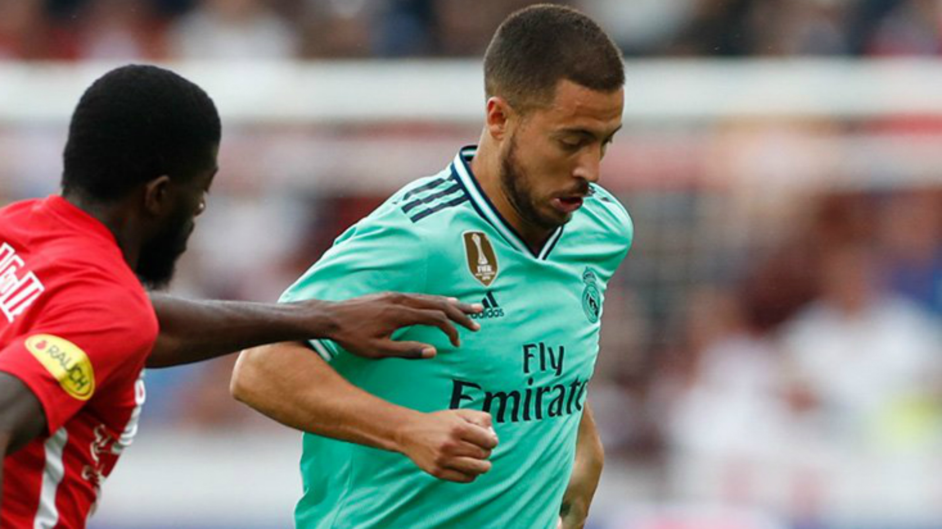 Hazard 'very pleased' after scoring first Real Madrid goal