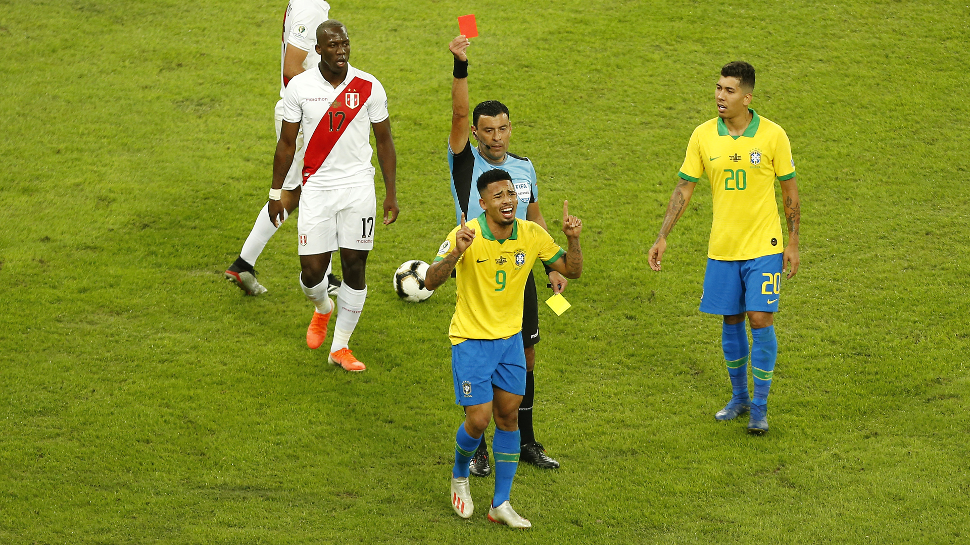 Brazil star Jesus handed two-month international ban
