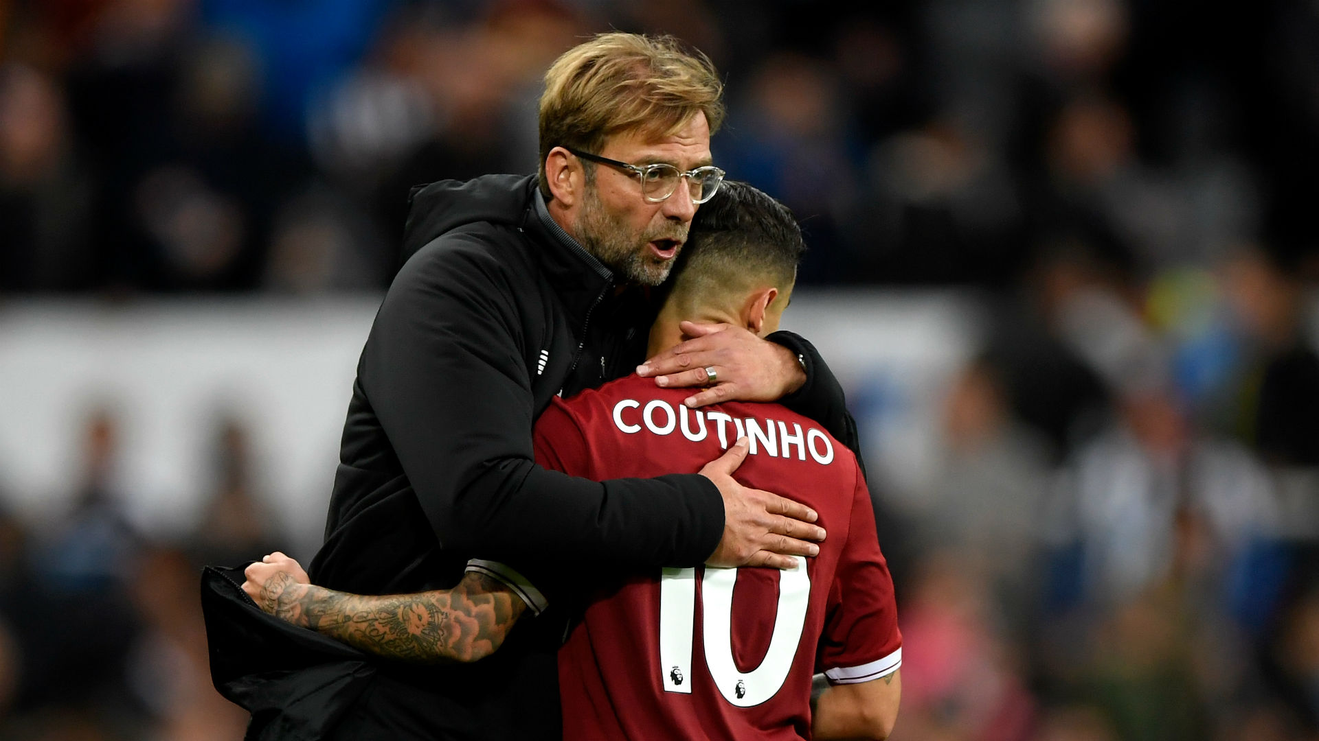 We don't make big comments on these things - Klopp unresponsive to Coutinho talk