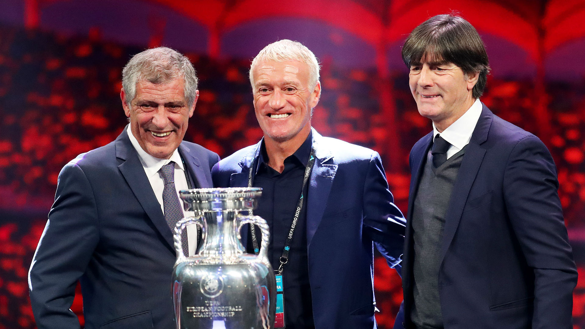 Euro 2020 draw: Portugal, Germany and France in Group F, England and Croatia together again