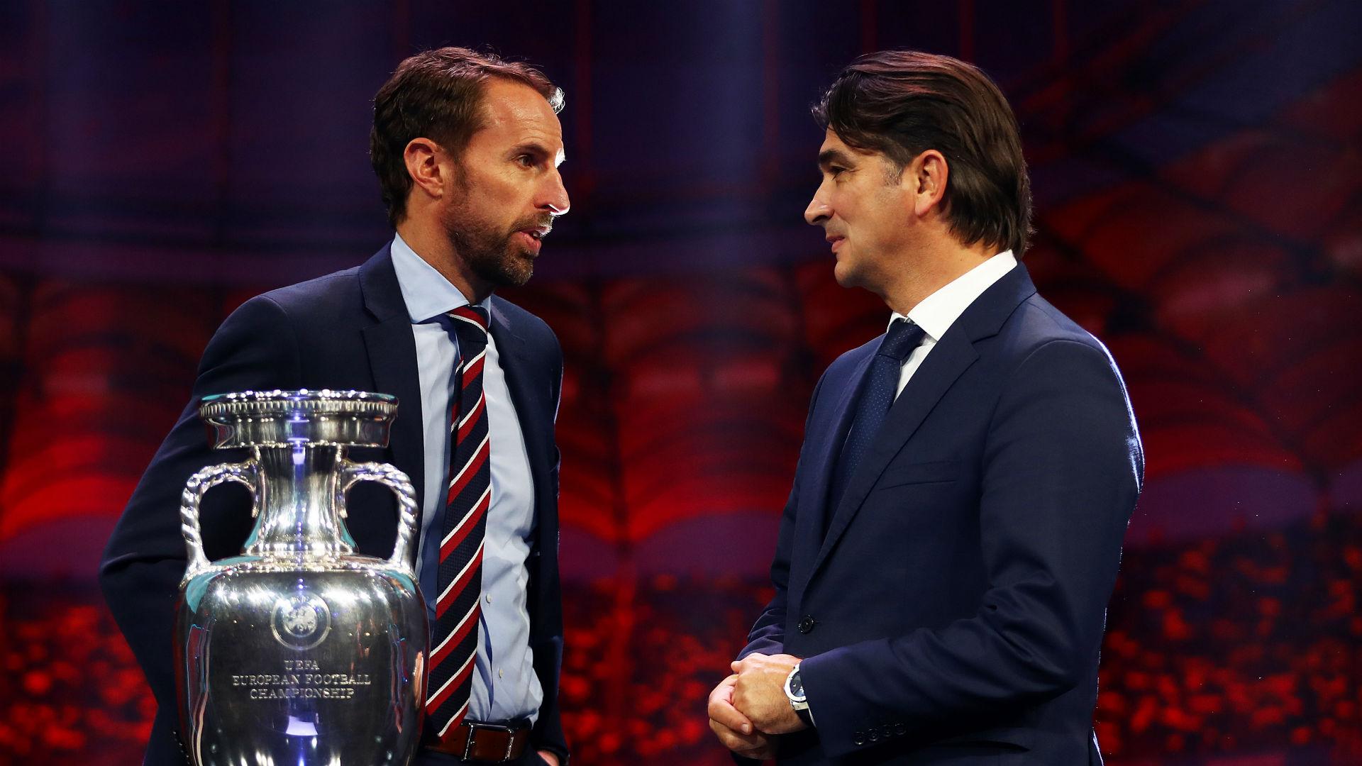 Euro 2020 draw: Southgate relishing 'top-level' England v Croatia showdown