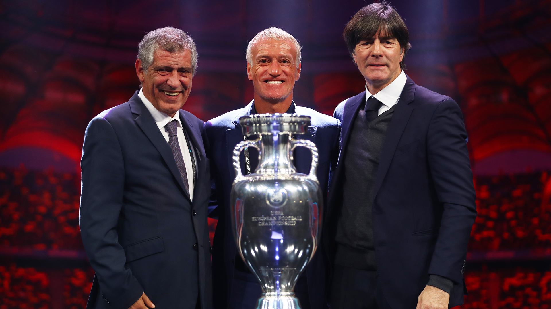 Euro 2020 draw: Deschamps ready for test, Low feels joy about 'group of death'