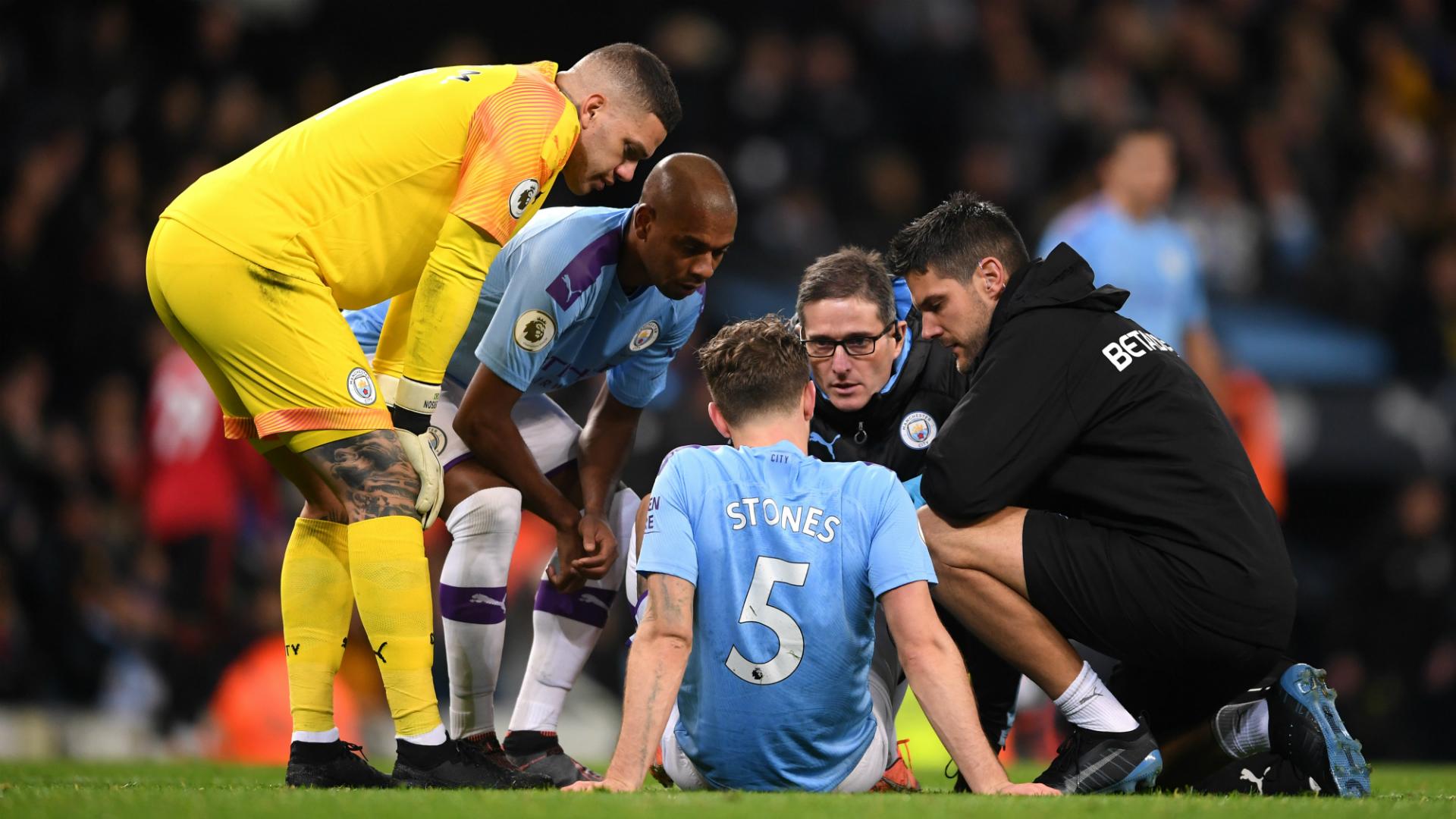 Man City defender Stones misses Zagreb trip