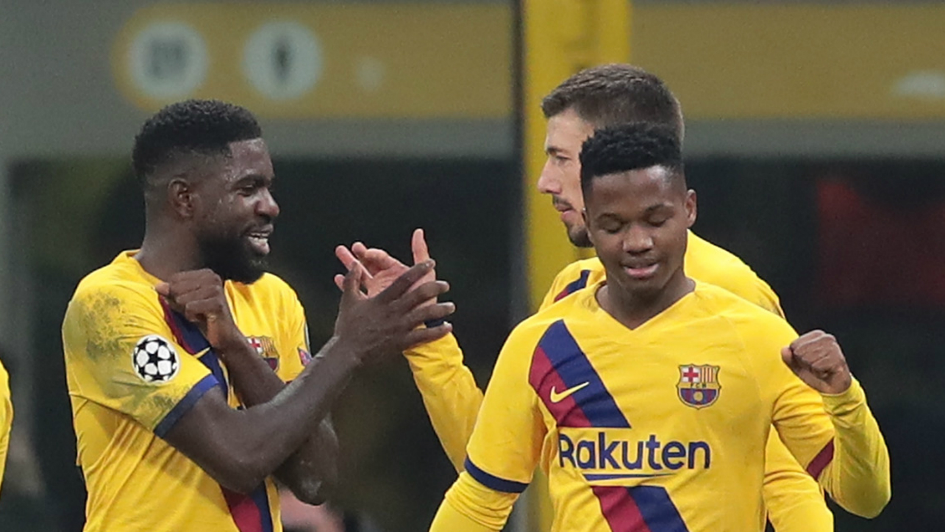 Barcelona star Fati becomes Champions League's youngest goalscorer