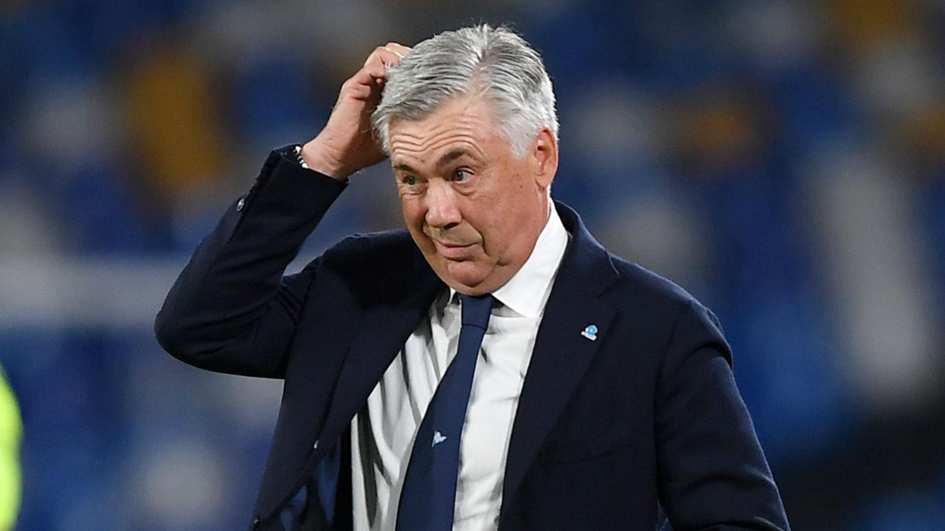 Napoli sack Ancelotti despite progressing in Champions League