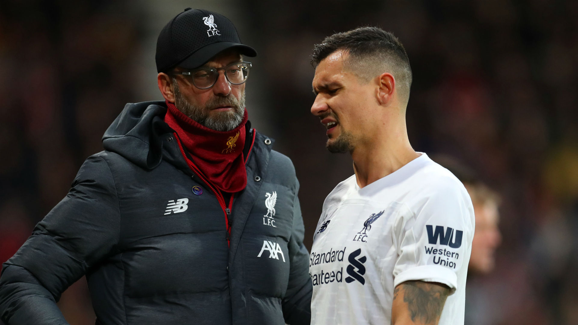 Klopp hoping Lovren injury is just cramp