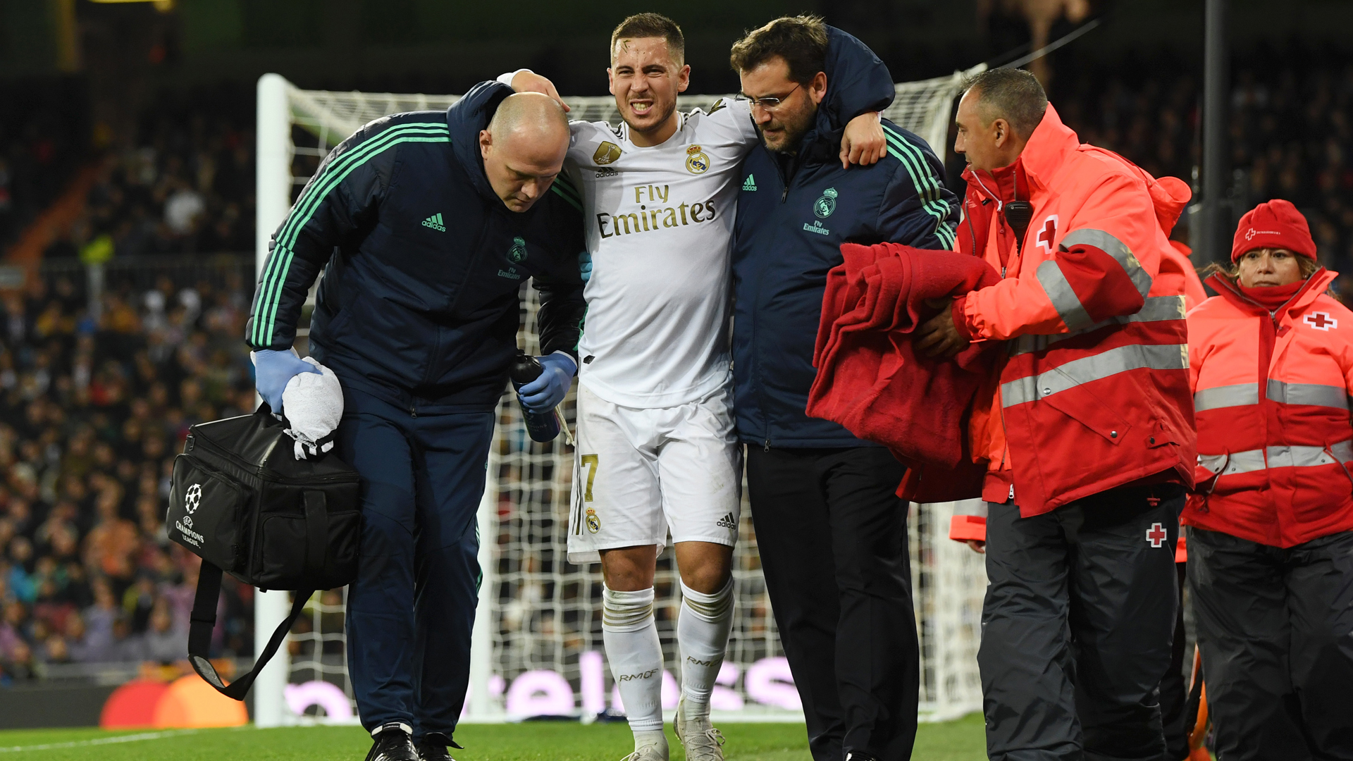 Zidane hopeful injured Hazard does not need surgery
