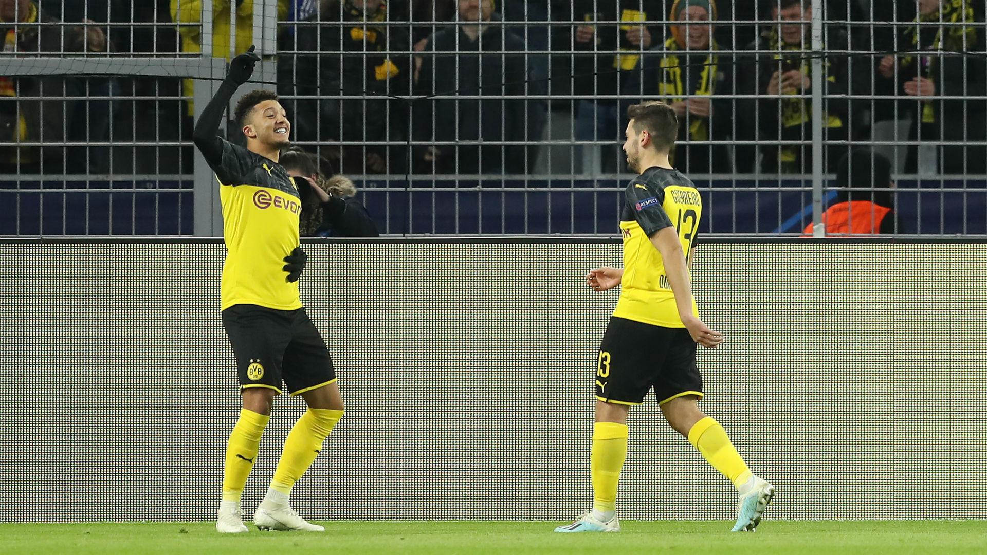 Borussia Dortmund 2-1 Slavia Prague: Sancho and Brandt seal last-16 spot