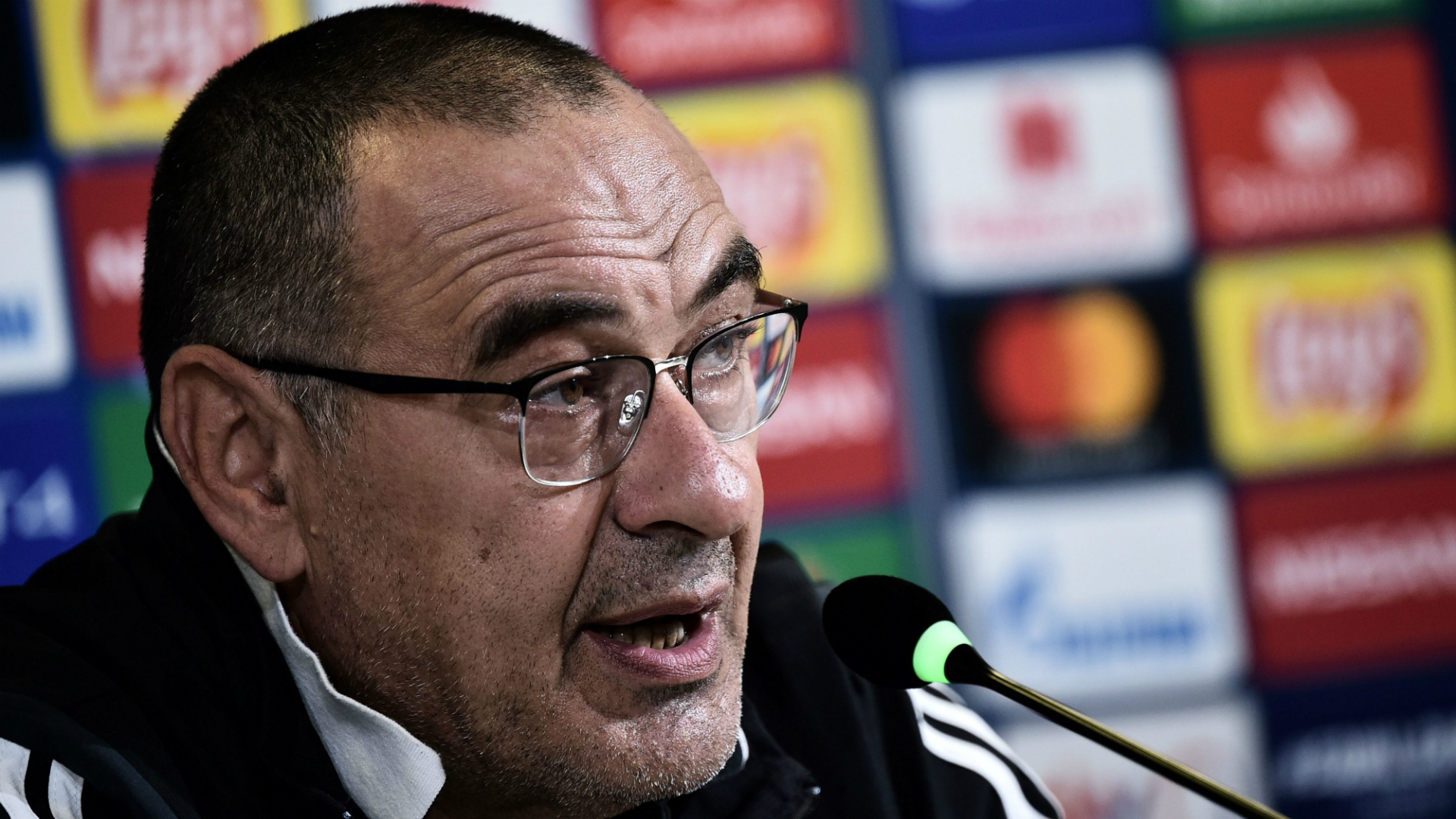 Sarri seeking 'change of mentality' from already-qualified Juventus