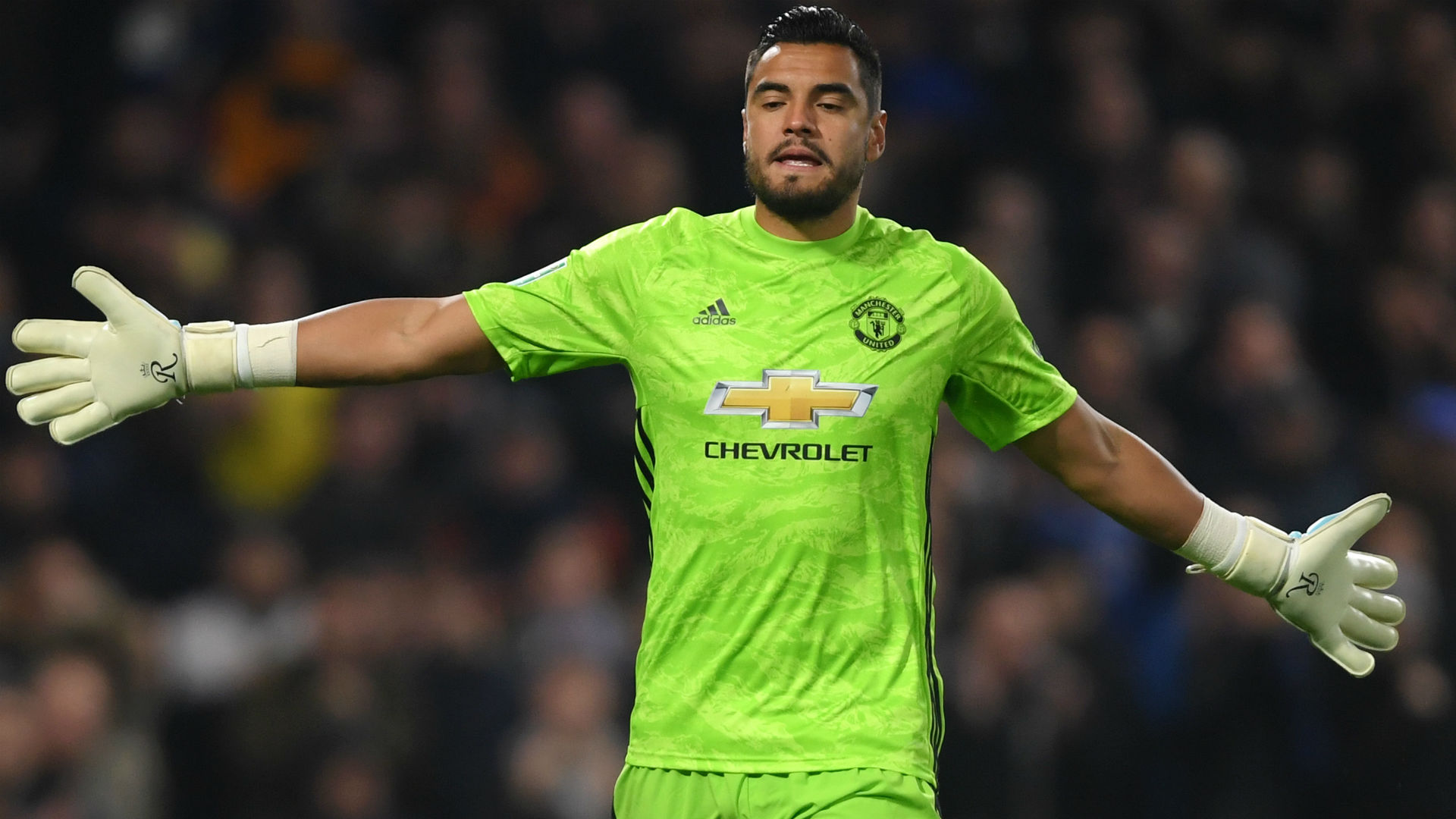 Romero still living the 'dream' at Man Utd despite frustration at permanent back-up role