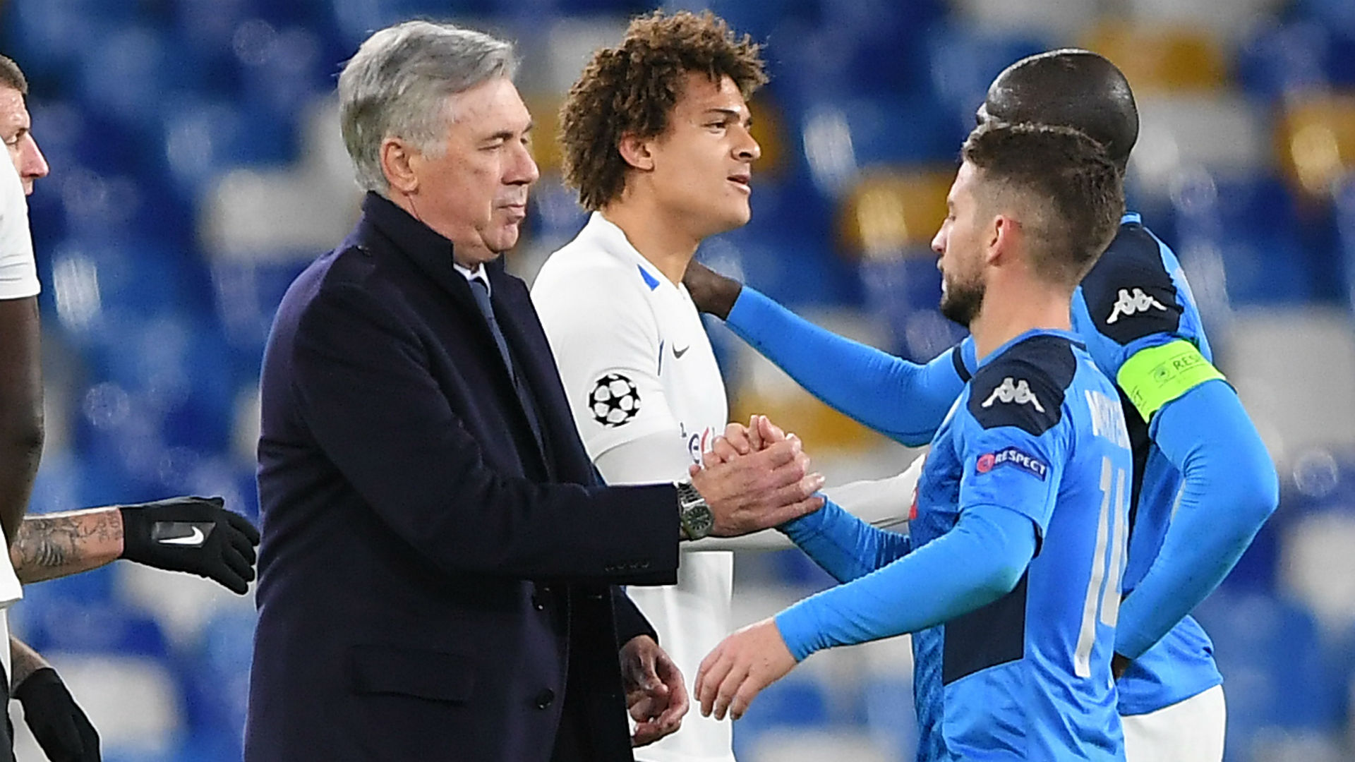 Napoli players pay tribute to 'special person' Ancelotti after sacking