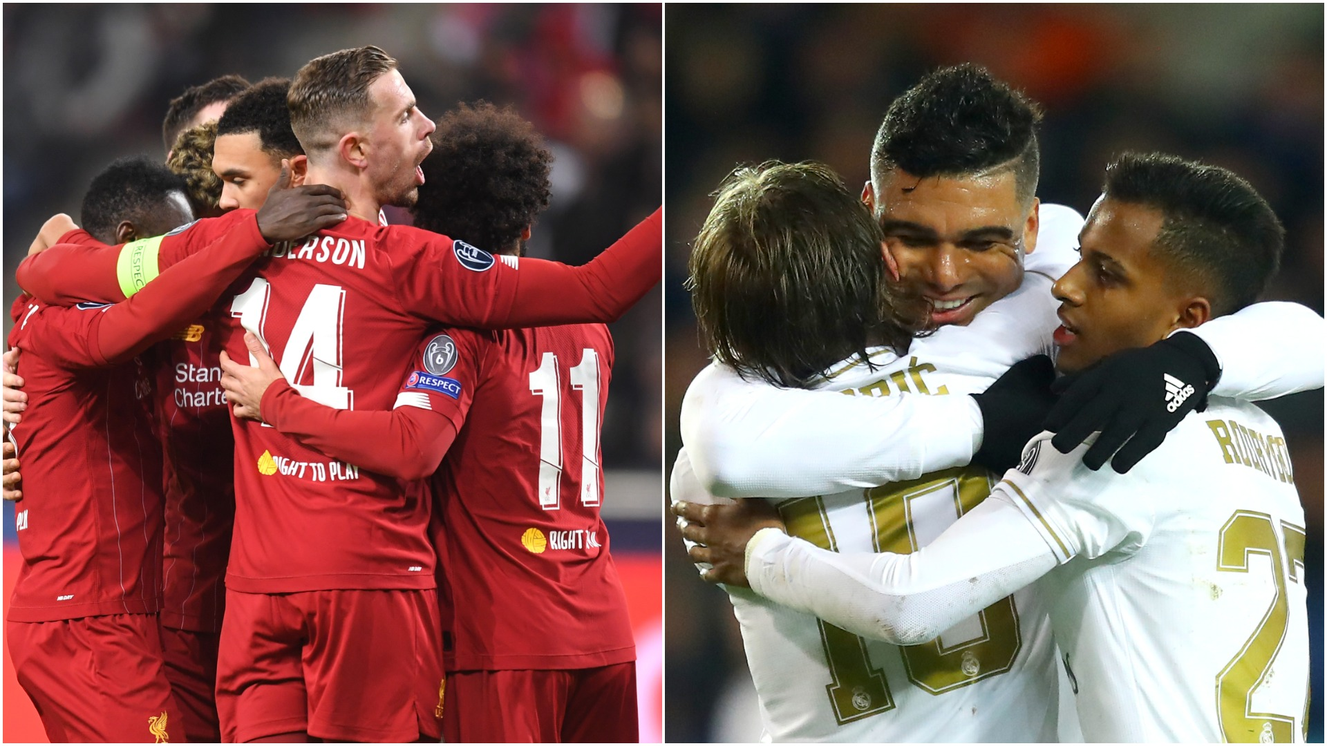 Champions League knockout stage dominated by Europe's top-tier nations