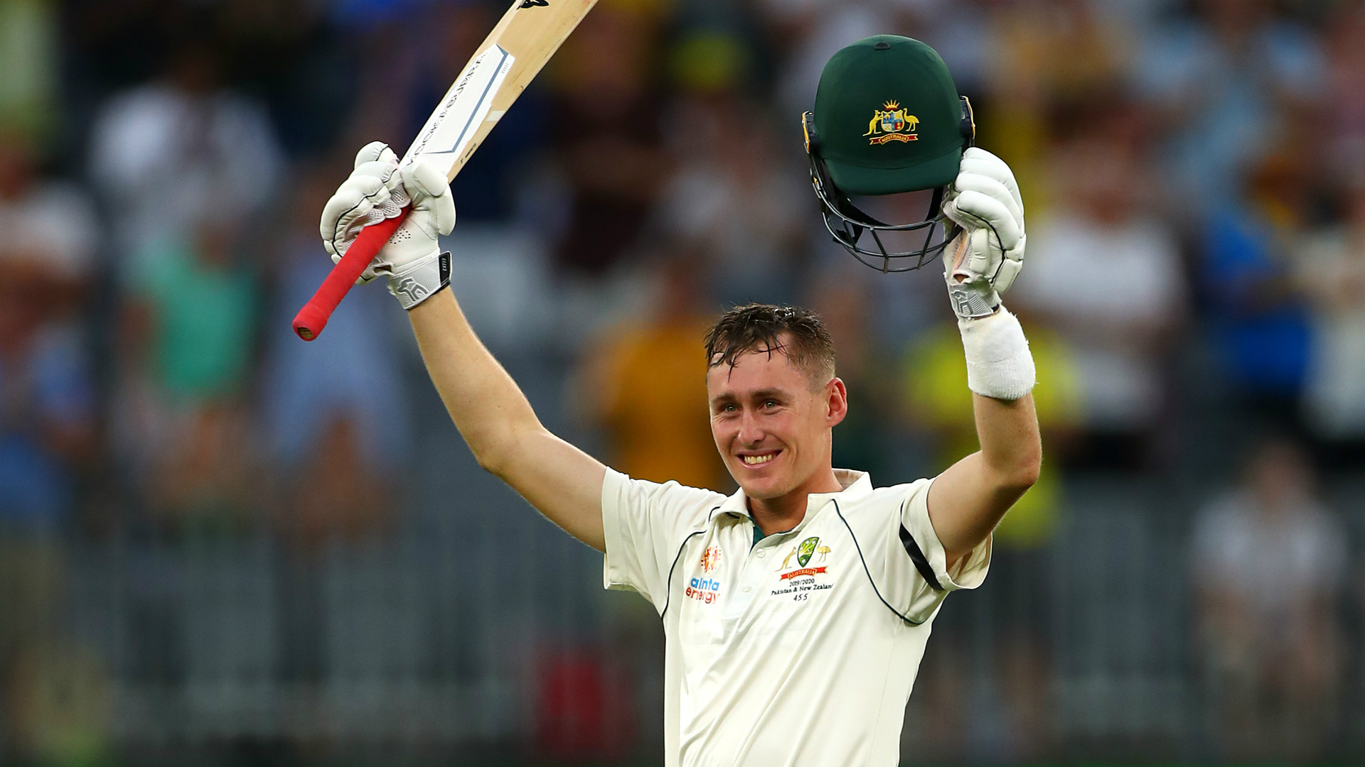 Australia v New Zealand: Marnus Labuschagne hits another hundred as hosts start strong
