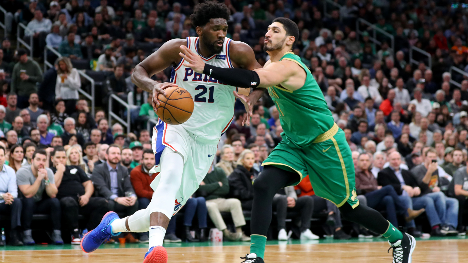 76ers hand Celtics first home loss, Doncic stars again