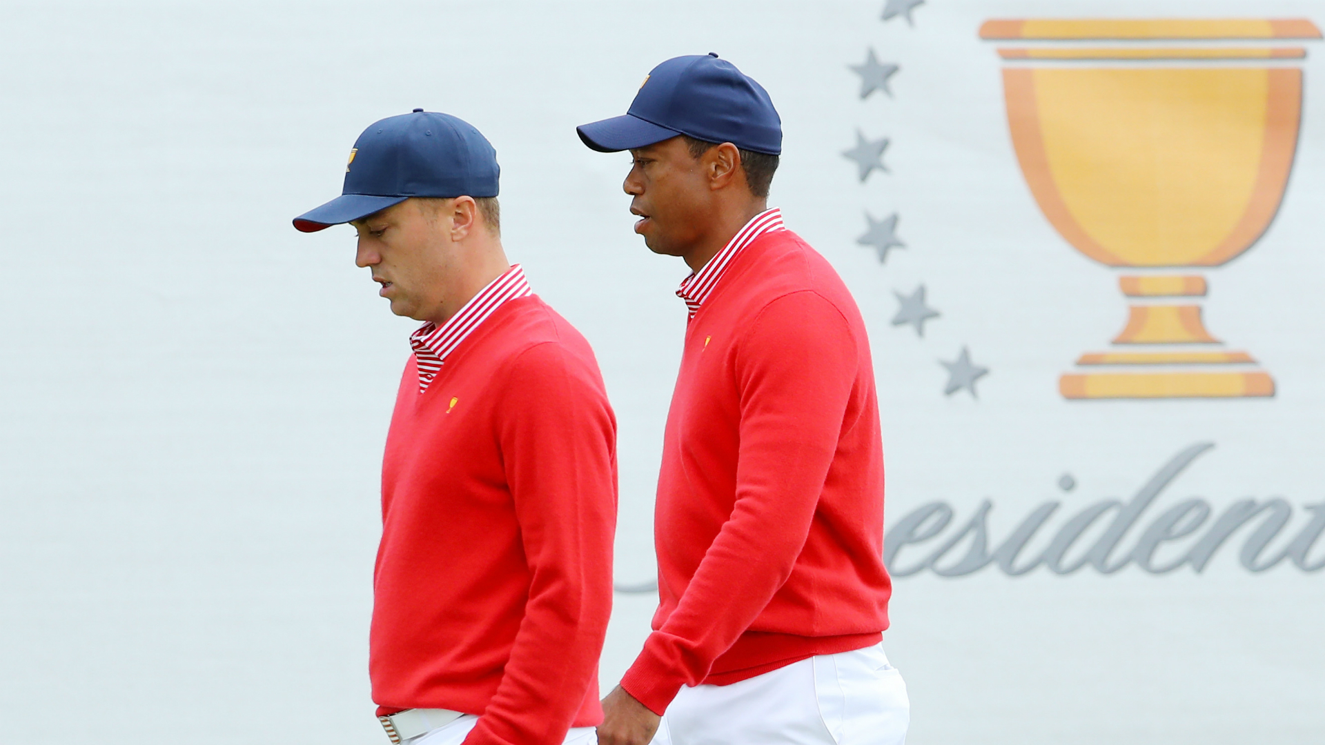 Presidents Cup 2019: Tiger Woods' USA with work to do in foursomes