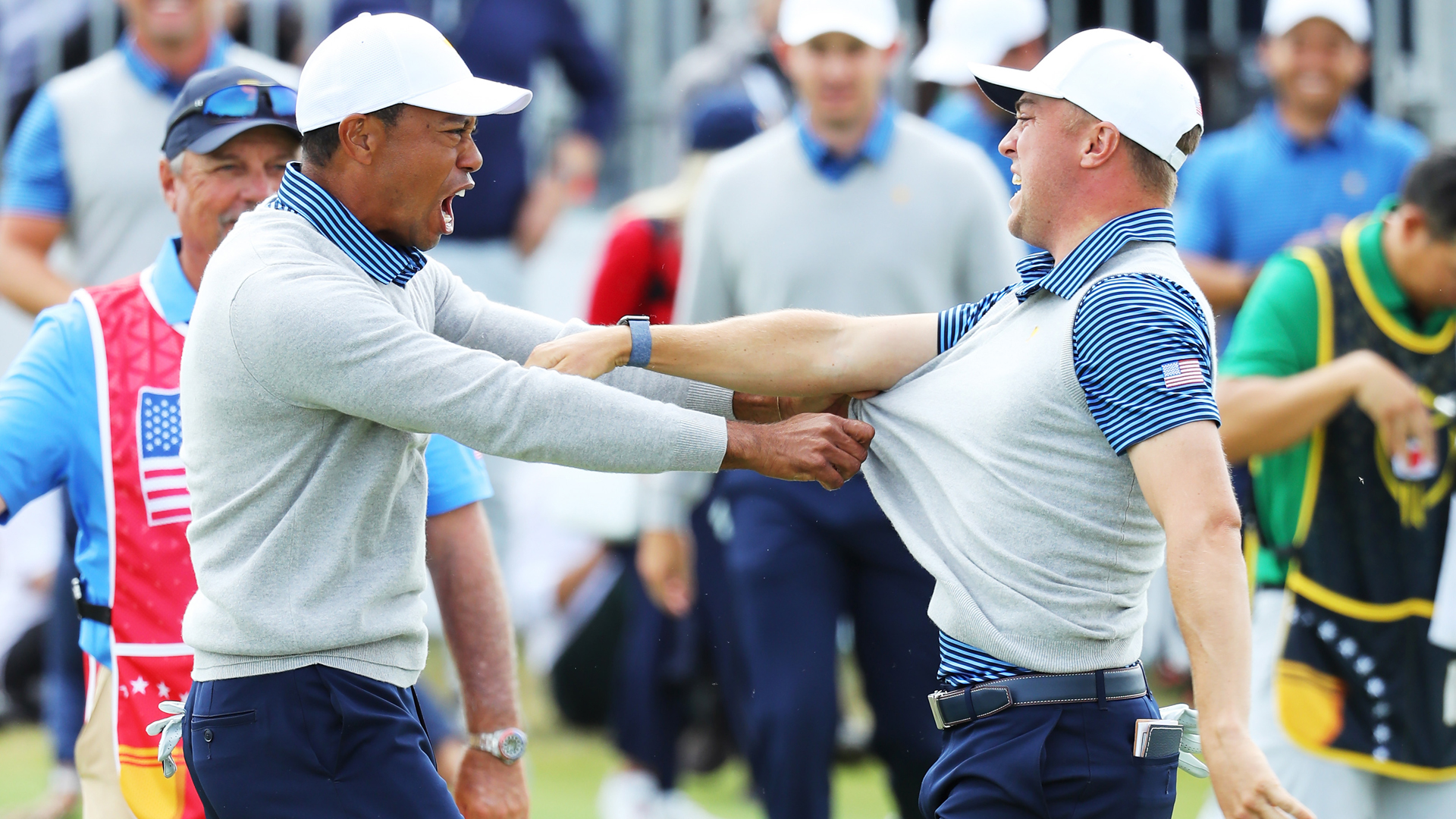 Presidents Cup 2019: The USA's momentum-changing fightback in Melbourne