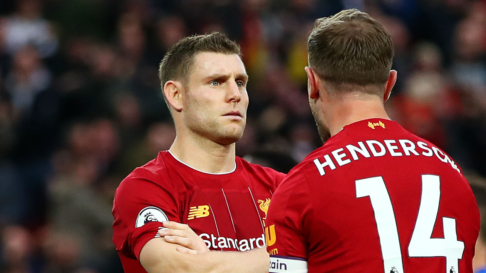 Liverpool hand vice-captain Milner new deal