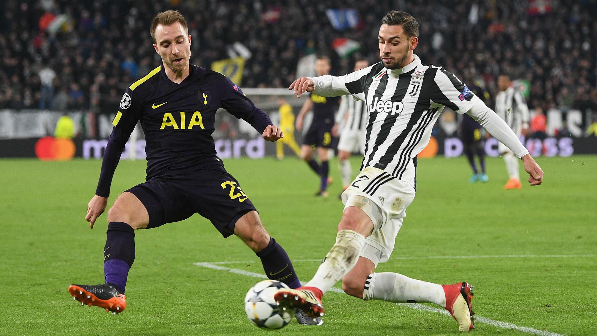 Juventus defender De Sciglio eyes Premier League challenge in Champions League last 16