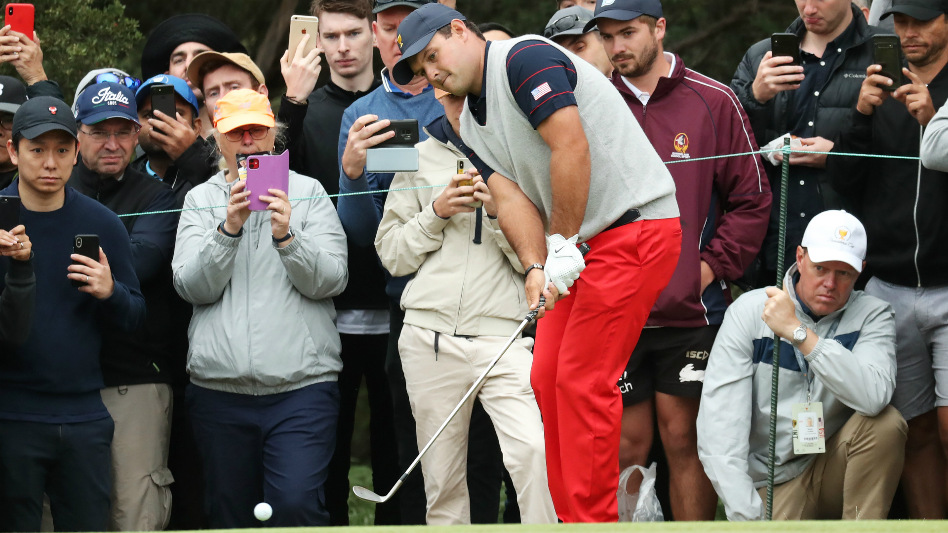 Presidents Cup 2019: Reed's woes continue in Melbourne