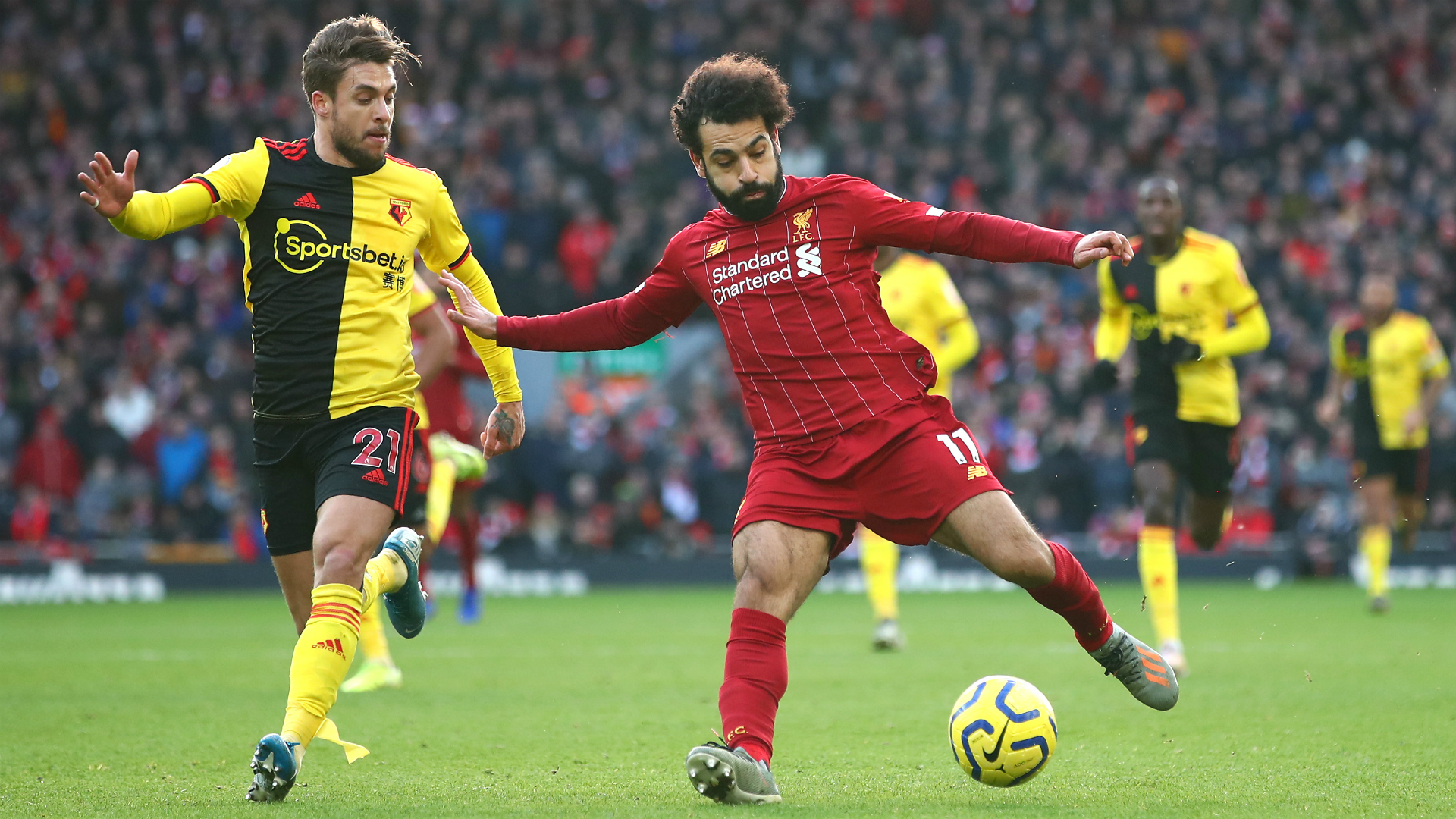 Salah magic rescues Liverpool as leaders labour against Watford