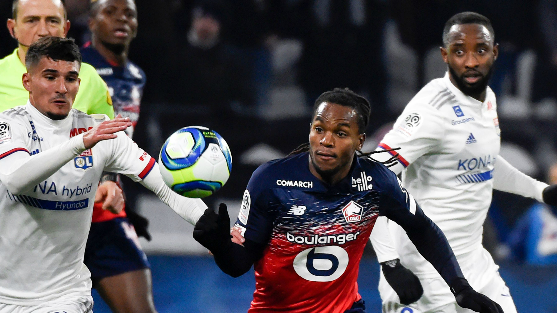 Lille's Sanches claims PSG wanted him in 2018