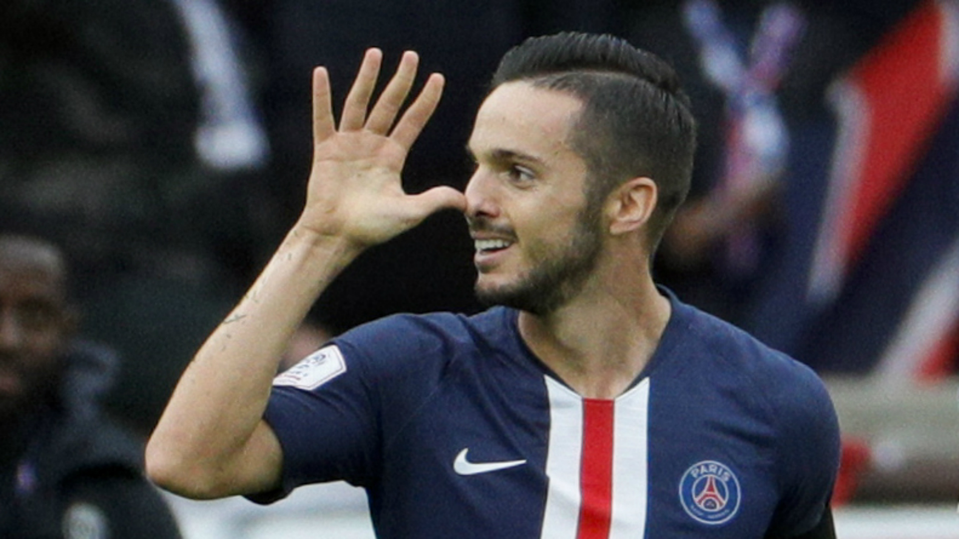 PSG's attack the best in the world, claims Sarabia