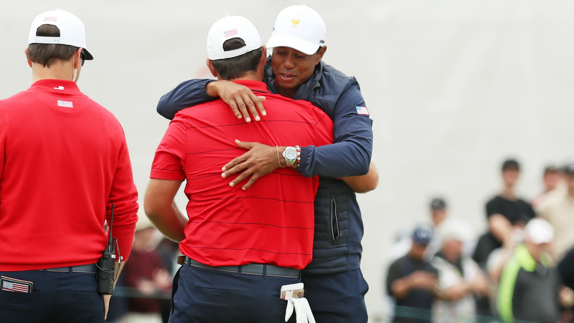 Presidents Cup 2019: Woods' USA make history to retain title after Melbourne rally
