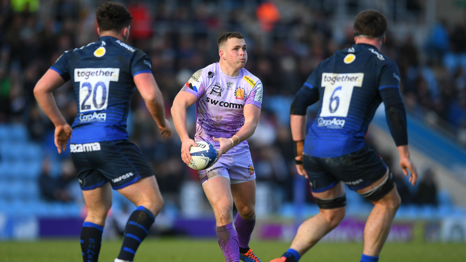 Exeter overpower Sale, classy Clermont cut loose