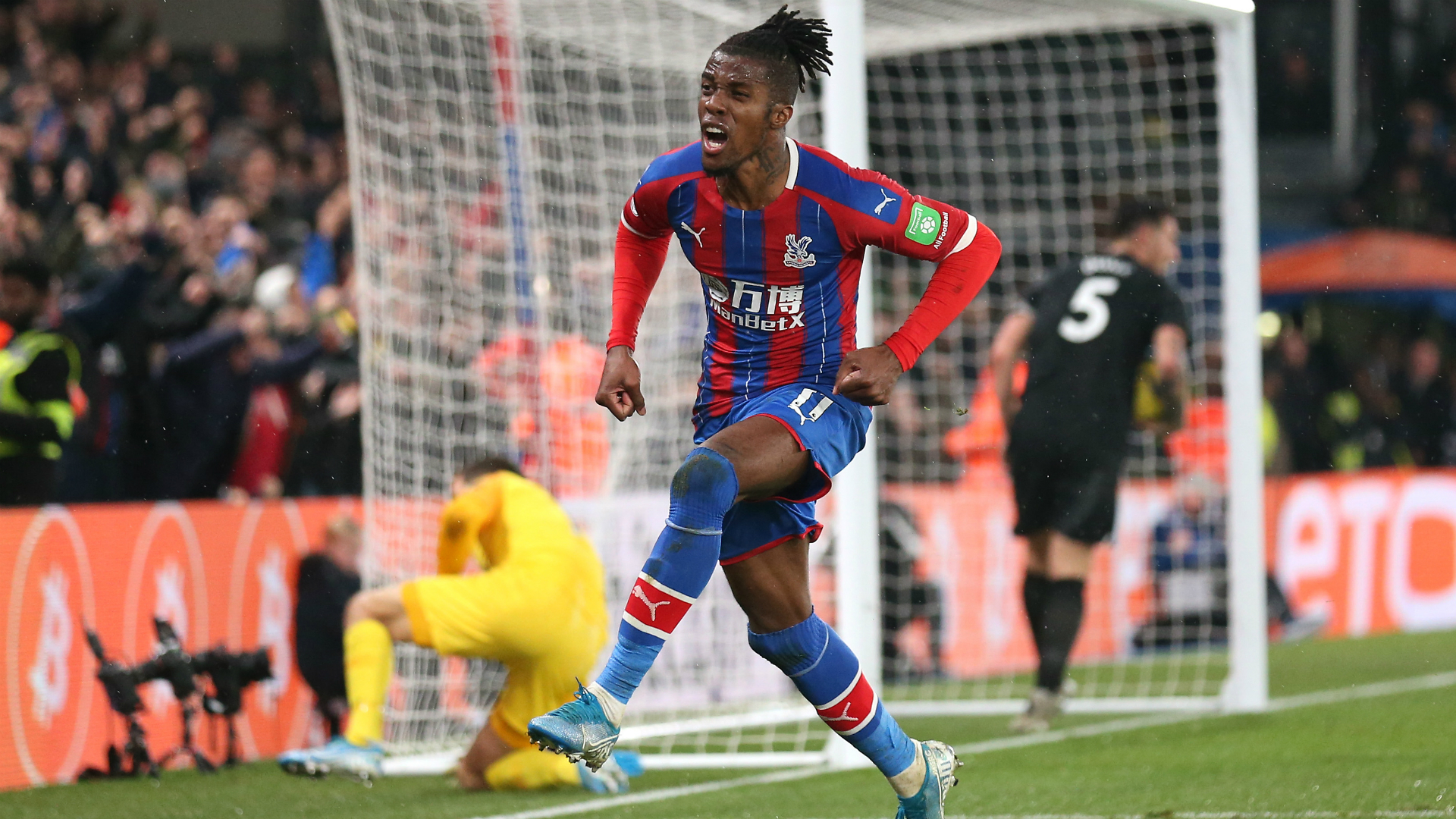 Crystal Palace 1-1 Brighton and Hove Albion: Zaha stunner seals point