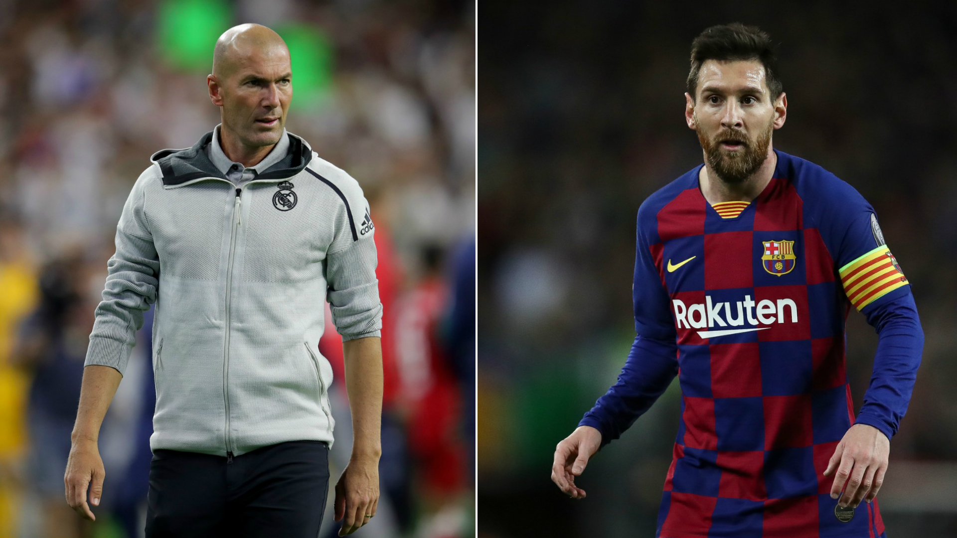 Messi surprised Real Madrid boss Zidane has critics