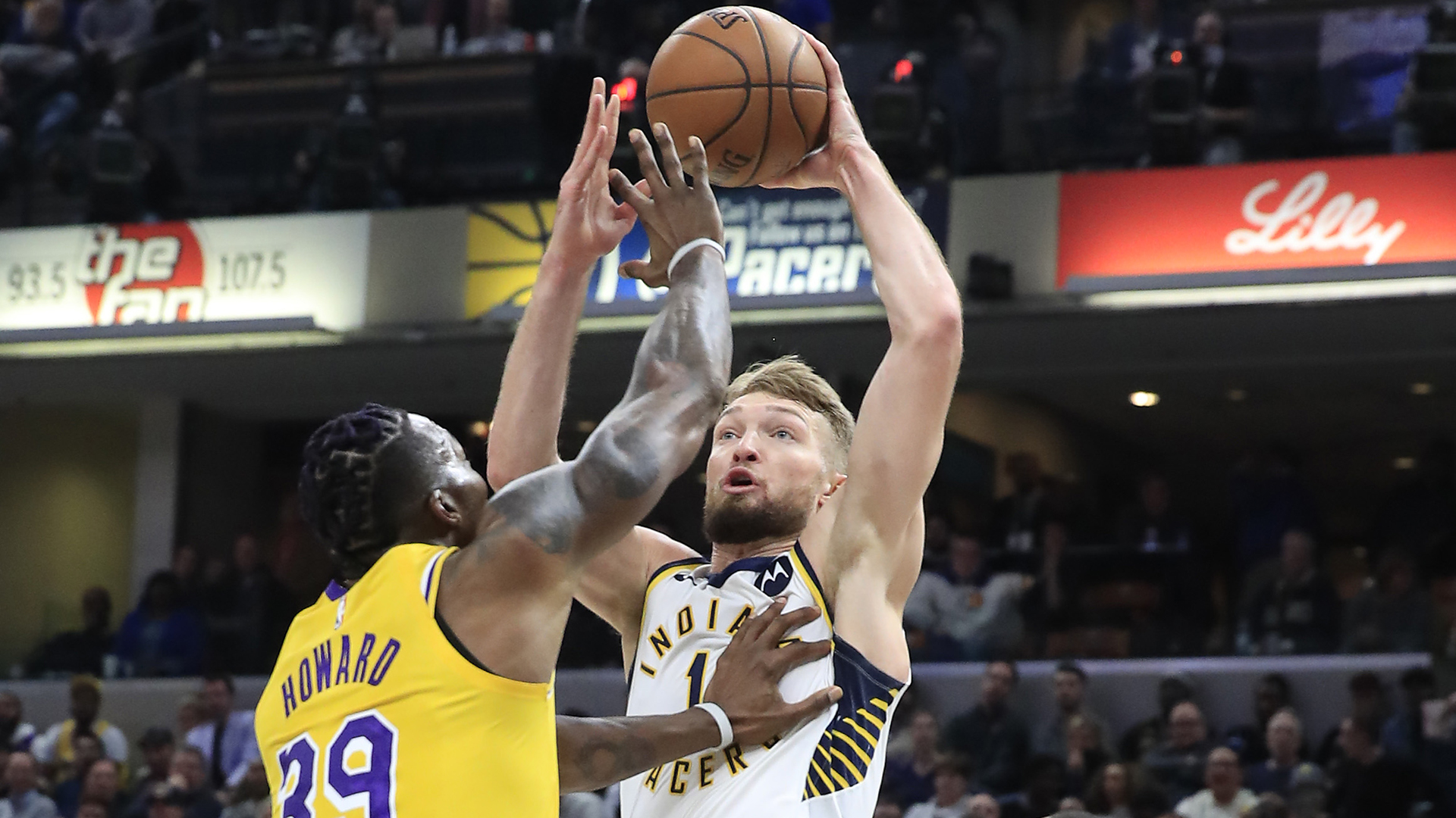 Pacers edge Lakers, Clippers cruise
